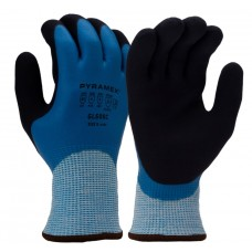 Pyramex GL506C Sandy Latex Insulated ANSI A5 Cut Resistant Work Gloves - Pair
