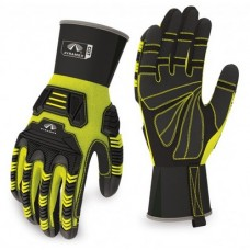 Pyramex GL802CR Maximum Duty Ultra Impact Cut Level 3 Hi Vis Glove, 1 Pair