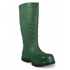 "Heartland 80101 Green Polytuff PVC Boot 15"" - Composite Toe"
