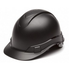 Pyramex Ridgeline HP44117 Graphite Pattern Hard Hat - Cap Style - 4 Pt Ratchet Suspension