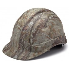 Pyramex Ridgeline Realtree Hard Hat Cap Style 4 Pt Ratchet Suspension HP44119