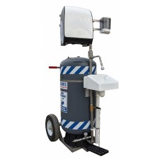 Hughes HW40K Mobile Self-Contained Hand Washing Station - 30 Gal.