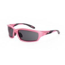 Crossfire 22528 Infinity Safety Glasses Smoke Lens Pearl Pink Frame