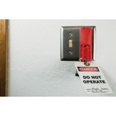 Accuform STOPOUT Universal Blockout Wall Switch Cover
