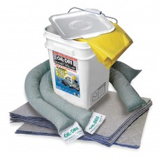 Oil-Dri L90435 Universal Spill Kit Bucket - 5 Gal