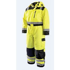 OccuNomix LUX-WCVL Hi Vis Yellow Winter Coverall - Type R - Class 3