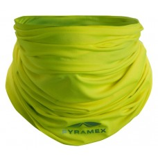 Pyramex Multi-Purpose Cooling Band - Face Guard - Rated UPF 50 - Hi Vis Yellow
