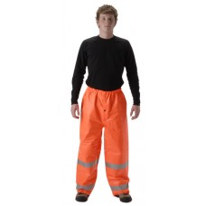 NASCO ArcLite 1501PFO FR Rainwear - Elastic Waist Pant Only - Hi Vis Orange