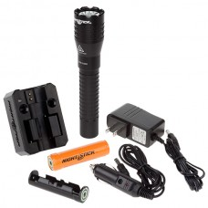 Nightstick NSR-9844XL Tactical Dual-Light Flashlight - Rechargeable