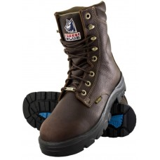 "Steel Blue Portland 8"" Work Boots - Steel Toe"