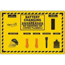 5S Battery Changing Station Store-Board - Board Only