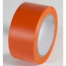 "Incom PST218 Safety Orange Aisle Tape - 2"" x 108'"