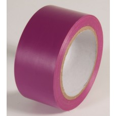 "Incom PST222 Safety Purple Aisle Tape - 2"" x 108'"
