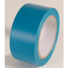 "Incom PST224 Safety Light Blue Aisle Tape - 2"" x 108'"