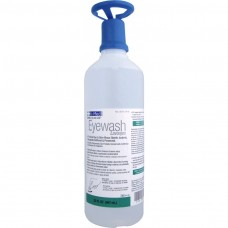 Genuine First Aid 32 Oz Eye Washer & Skin Rinse w/ Eye Opener