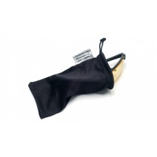 Pyramex cloth Drawstring Glasses Bag, Black