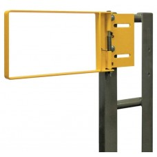 "Fabenco R70-21PC Standard Bolt On Industrial Safety Gate - Carbon Steel with Safety Yellow Powder Coat - Fits 21-24"" Opening"