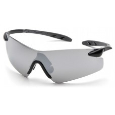 Pyramex Rotator SB7870S Safety Glasses - Indoor/Outdoor Mirror Lens - Black Temples - (CLOSEOUT)
