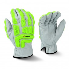 Radians RWG51 KAMORI White Grain Goat Skin Work Glove, Pair