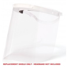 Pyramex S1000R Replacement Shields - (Headgear Not Included) - 20 Pk