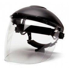 Pyramex S1110 PC Tapered Face Shield Only - Clear