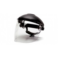 Pyramex PC Tapered Face Shield Only, Clear