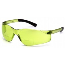 Pyramex Ztek S2514R15 Reader Safety Glasses - 1.5 IR Bifocal Lens - 1.5+ Mag