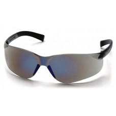 Pyramex S2575SN Mini Ztek Safety Glasses Blue Mirror Frame Blue Mirror Lens