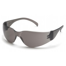 Pyramex Intruder S4120ST Safety Glasses, Gray Frame, Gray-Hardcoated Lens, Anti-fog