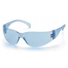 Pyramex Intruder S4160S Safety Glasses, Infinity Blue Frame, Infinity Blue-Hardcoated Lens