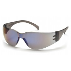 Pyramex Intruder S4175S Safety Glasses, Blue Mirror Frame, Blue Mirror-Hardcoated Lens