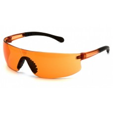 Pyramex S7240S Provoq Safety Glasses Orange Frame Orange Lens