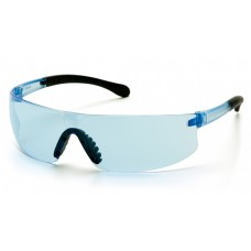Pyramex S7260S Provoq Safety Glasses Infinity Blue Frame Infinity Blue Lens