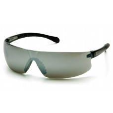 Pyramex S7270S Provoq Safety Glasses Silver Mirror Frame Silver Mirror Lens