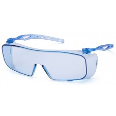 Pyramex S9960ST Cappture Safety Glasses - Blue Frame - Infinity Blue H2X Anti-Fog Lens