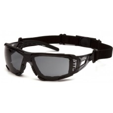 Pyramex Fyxate SB10220STMFP Safety Glasses - Gray Temples - GrayH2MAX Anti-Fog Lens