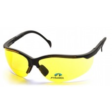 Pyramex Venture II SB1830R20 Bifocal Safety Glasses Amber +2.0 Lens with Black Frame