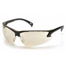 Pyramex Venture 3 SB5780D Safety Glasses Black Frame Indoor/Outdoor Lens