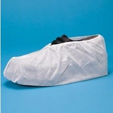 MEDIUM SHOE COVER - LAMINATED POLYPROPYLENE - WITH NON SKID AQ SOLE - WATER RESISTANT, 100 PR/CASE