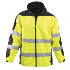 OccuNomix SP-BRJ Workwear Premium Breathable Rain Jacket - Hi Vis Yellow - Type R - Class 3 - (CLOSEOUT - LIMITED STOCK AVAILABLE)