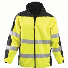 OccuNomix SP-BRJ Hi Vis Yellow Speed Collection Premium Breathable Rain Jacket