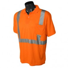 Radians ST12 Hi Vis Orange Safety Polo Shirt - Type R - Class 2