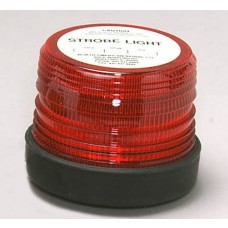 North American Signal Company ST500-ACR Single Flash Strobe - 120V - Red - (CLOSEOUT)