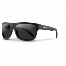 Lift Safety Banshee EBE-18MKST Safety Glasses - Matte Black Frame - Gray Lens