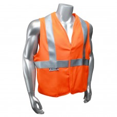 Radians SV92 Hi Vis Orange Safety Vest - Basic Modacrylic FR - Type R - Class 2