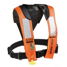 Kent A-33 In-Sight Automatic Inflatable Work Vest, Adult Universal