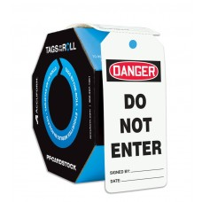 OSHA Danger Tags By-The-Roll: Do Not Enter, 250 / Roll