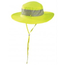 Occunomix TD600 Hi Vis Yellow Wicking & Cooling Ranger Cap w/Sunglass Holders - (CLOSEOUT)