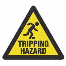 TRIPPING HAZARD Safety Floor Graphic, Anti-Slip