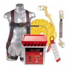 KStrong 50 ft. Roofers Fall Protection Kit
